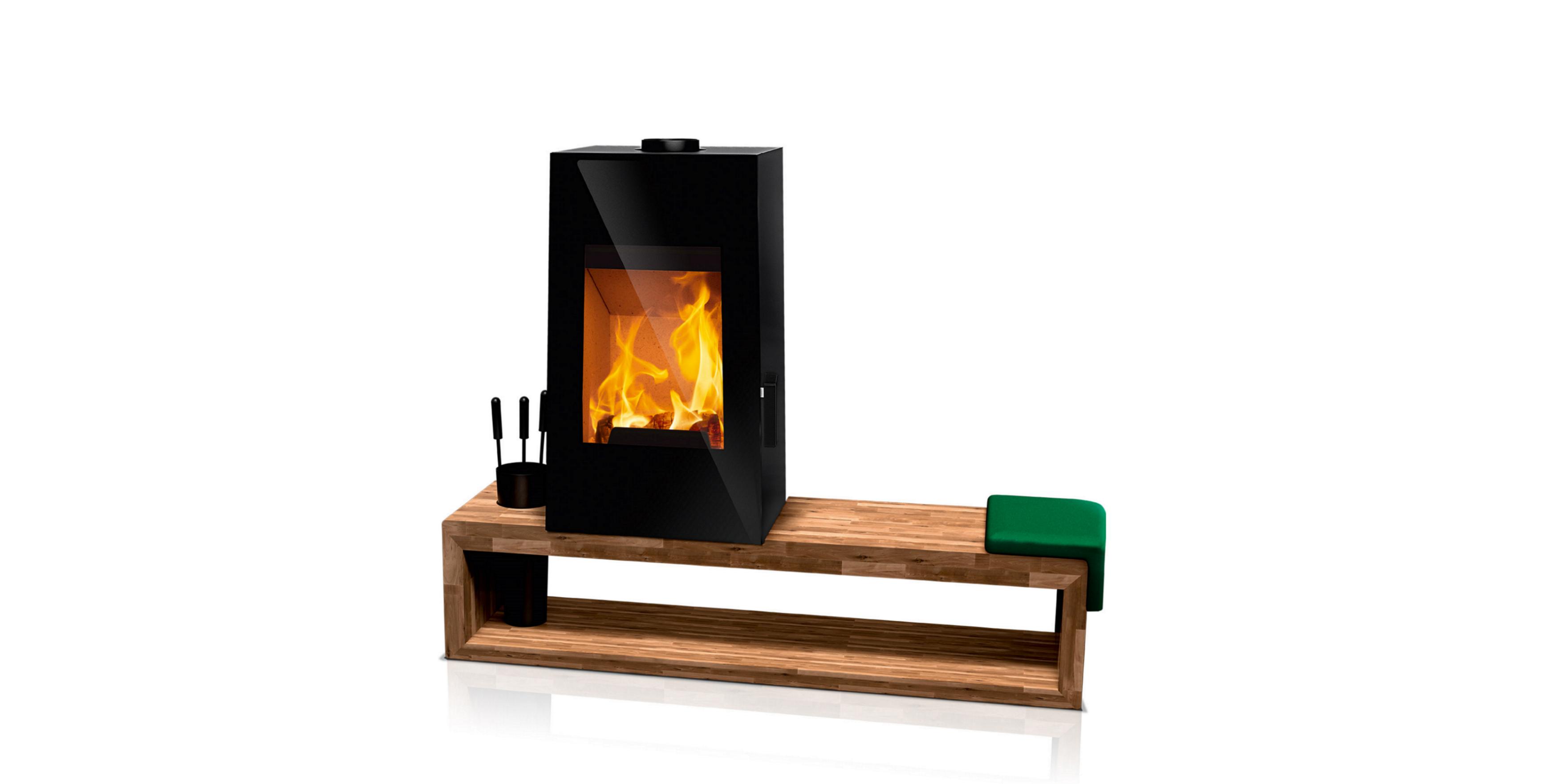 kaminofen rudelmann feuer und design bodmann. Black Bedroom Furniture Sets. Home Design Ideas